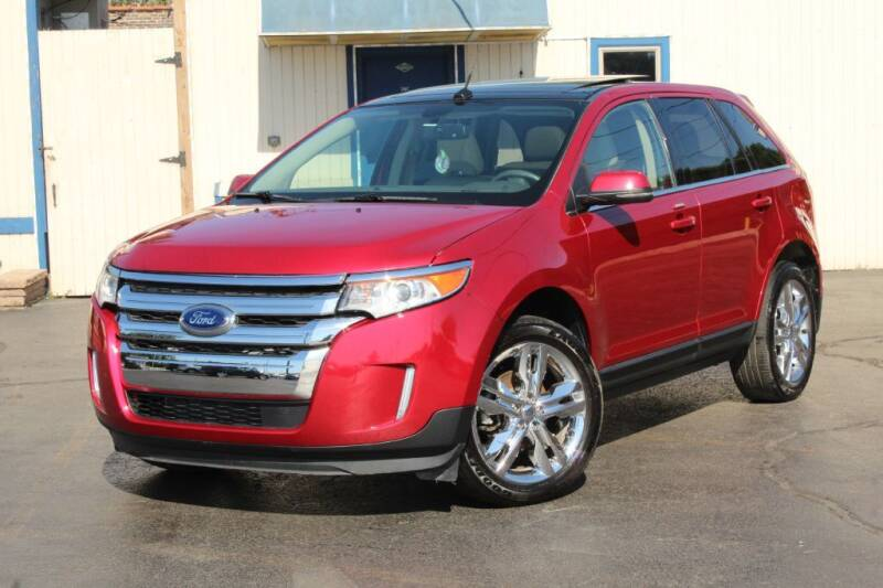 2012 Ford Edge for sale at Dynamics Auto Sale in Highland IN