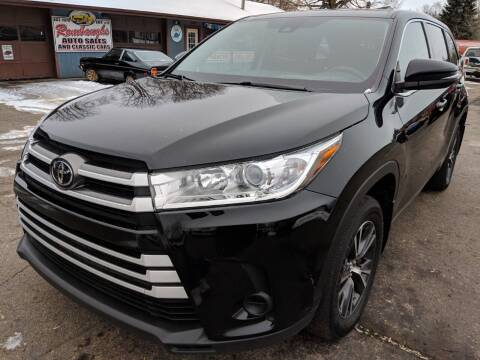 2017 Toyota Highlander for sale at Rombaugh's Auto Sales in Battle Creek MI