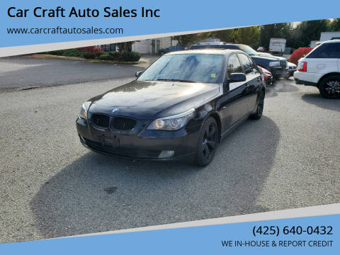 2008 BMW 5 Series for sale at Car Craft Auto Sales Inc in Lynnwood WA