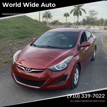 2014 Hyundai Elantra for sale at World Wide Auto in Fayetteville NC