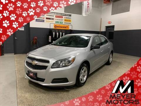 2013 Chevrolet Malibu for sale at Meyer Motors in Plymouth WI
