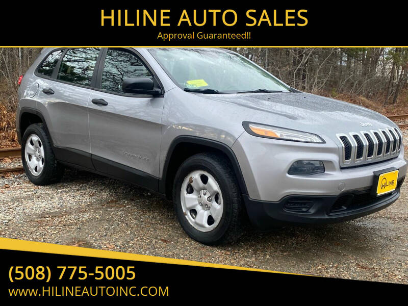 2014 Jeep Cherokee for sale at HILINE AUTO SALES in Hyannis MA