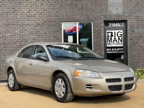 2002 Dodge Stratus for sale at Big Man Motors in Farmington MN