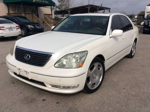2006 Lexus LS 430 for sale at OASIS PARK & SELL in Spring TX
