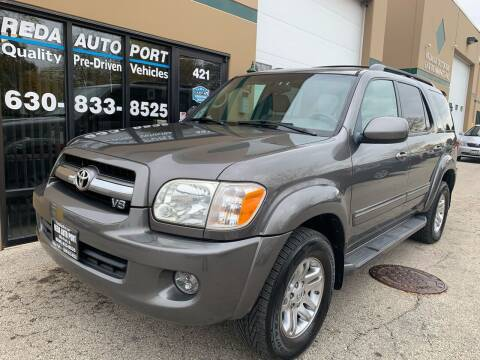 2005 Toyota Sequoia for sale at REDA AUTO PORT INC in Villa Park IL