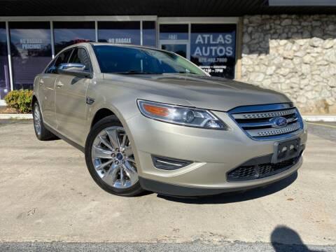 2011 Ford Taurus for sale at ATLAS AUTOS in Marietta GA