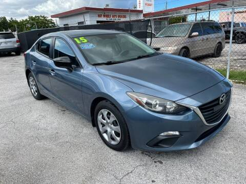 2015 Mazda MAZDA3 for sale at Alma Car Sales in Miami FL