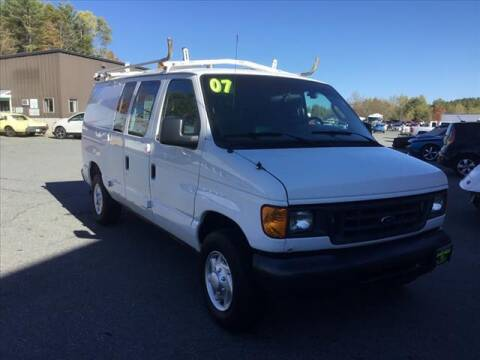2007 Ford E-Series Cargo for sale at SHAKER VALLEY AUTO SALES in Enfield NH