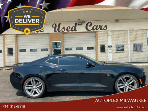 2018 Chevrolet Camaro for sale at Autoplex 2 in Milwaukee WI