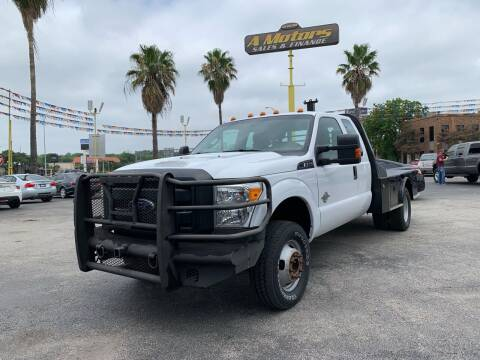 2015 Ford F-350 Super Duty for sale at A MOTORS SALES AND FINANCE in San Antonio TX