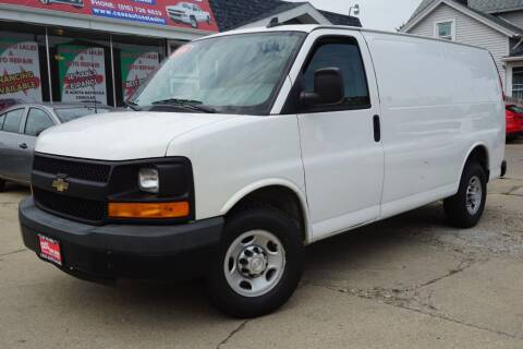 2016 Chevrolet Express Cargo for sale at Cass Auto Sales Inc in Joliet IL