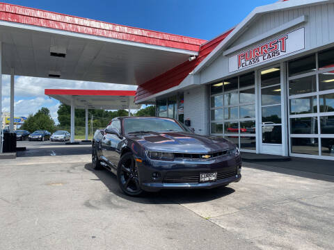 2014 Chevrolet Camaro for sale at Furrst Class Cars LLC  - Independence Blvd. in Charlotte NC