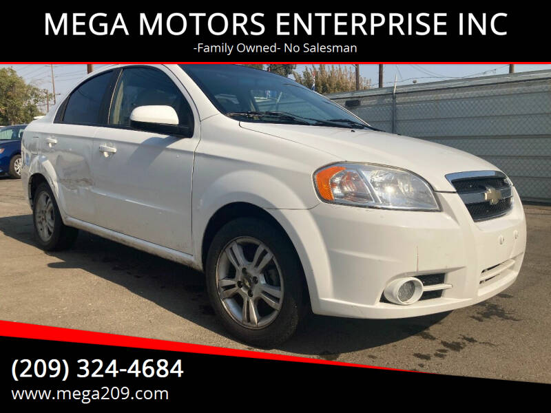 2011 Chevrolet Aveo for sale at MEGA MOTORS ENTERPRISE INC in Modesto CA