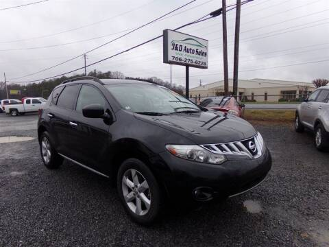 2009 Nissan Murano for sale at J & D Auto Sales in Dalton GA