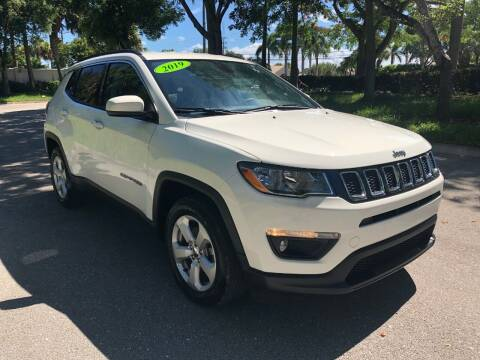 2019 Jeep Compass for sale at DELRAY AUTO MALL in Delray Beach FL