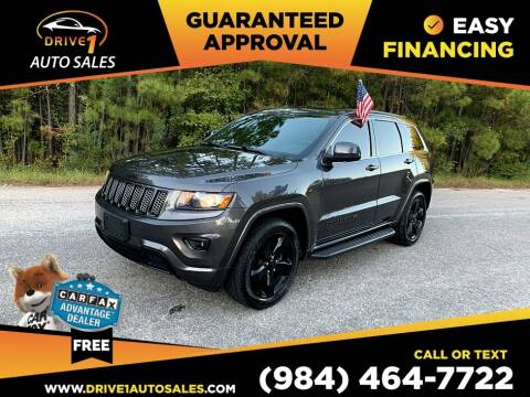 2015 Jeep Grand Cherokee for sale at Drive 1 Auto Sales in Wake Forest NC