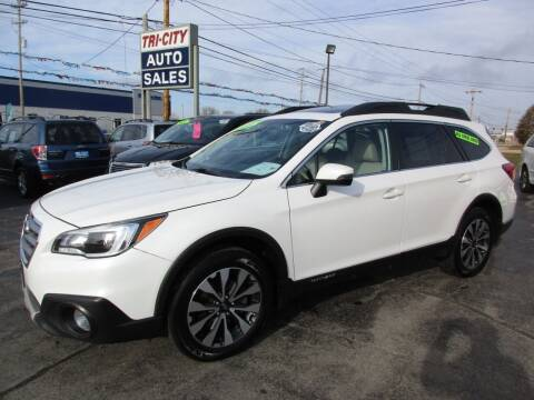 2017 Subaru Outback for sale at TRI CITY AUTO SALES LLC in Menasha WI