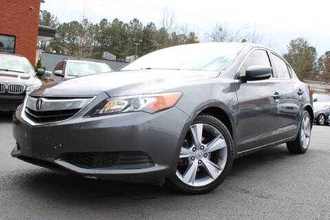 2014 Acura ILX for sale at Atlanta Unique Auto Sales in Norcross GA