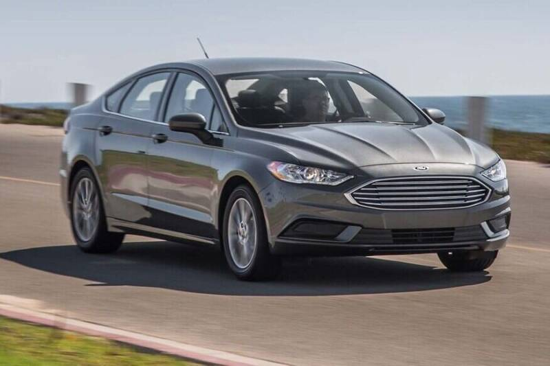 2017 Ford Fusion for sale at Econo Auto Sales Inc in Raleigh NC