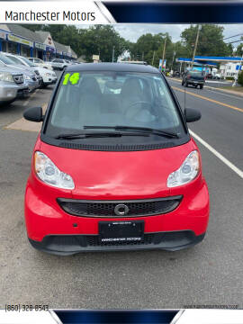 2014 Smart fortwo for sale at Manchester Motors in Manchester CT