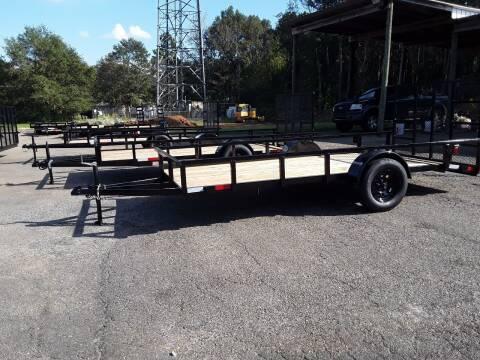 2021 NATIVE TRAILERS, LLC 6X14 TUBETOP UT for sale at WALKER MOTORS LLC in Hattiesburg MS