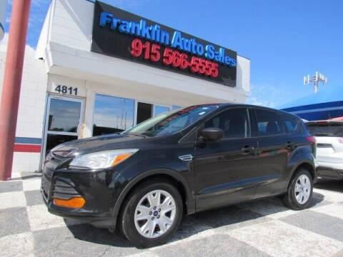 2014 Ford Escape for sale at Franklin Auto Sales in El Paso TX