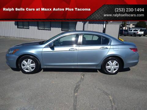 2012 Honda Accord for sale at Ralph Sells Cars at Maxx Autos Plus Tacoma in Tacoma WA