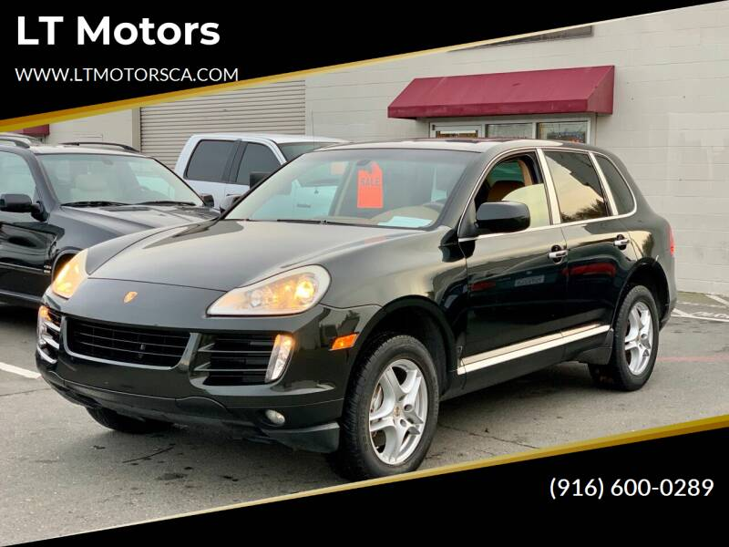 2008 Porsche Cayenne for sale at LT Motors in Rancho Cordova CA