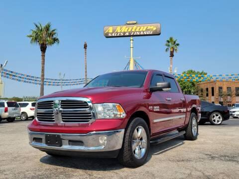 2013 RAM Ram Pickup 1500 for sale at A MOTORS SALES AND FINANCE - 10110 West Loop 1604 N in San Antonio TX