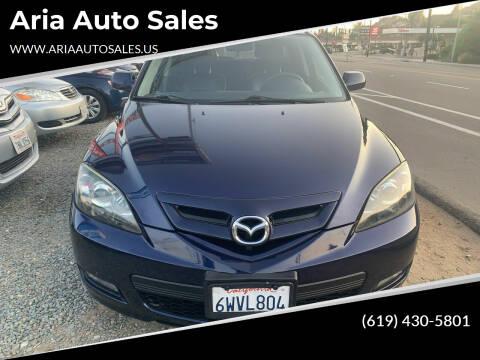 2008 Mazda MAZDA3 for sale at Aria Auto Sales in El Cajon CA