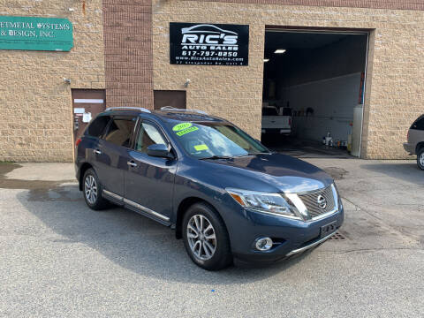 2015 Nissan Pathfinder for sale at Ric's Auto Sales in Billerica MA