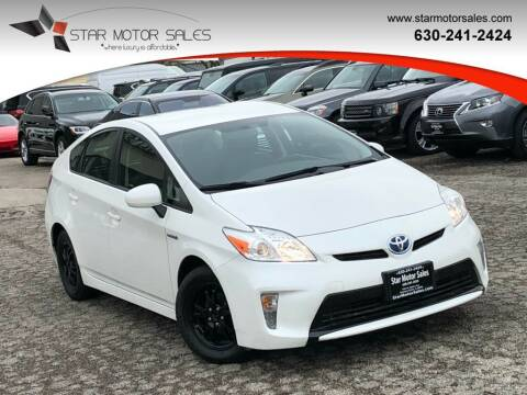 2014 Toyota Prius for sale at Star Motor Sales in Downers Grove IL