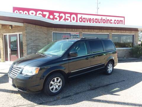 2010 Chrysler Town and Country for sale at Dave's Auto Sales & Service in Weyauwega WI