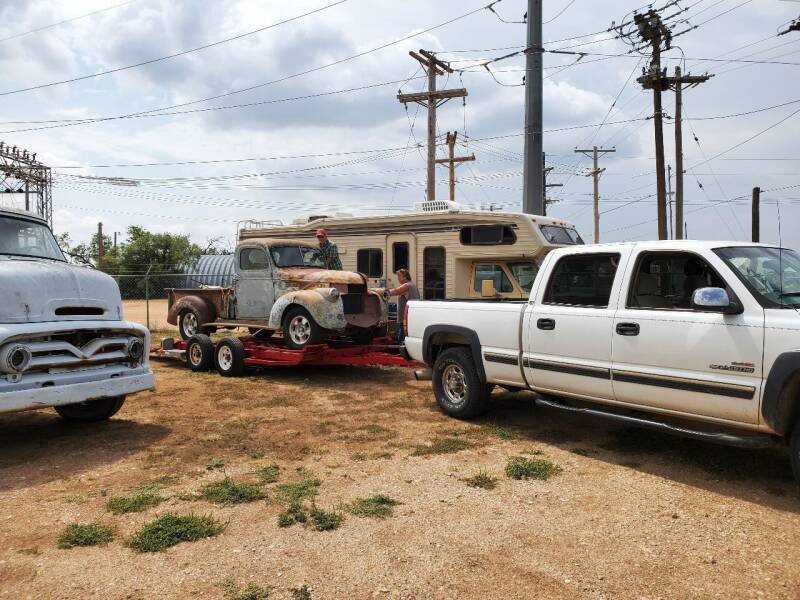 1955 Ford C-600 for sale at CLASSIC MOTOR SPORTS in Winters TX