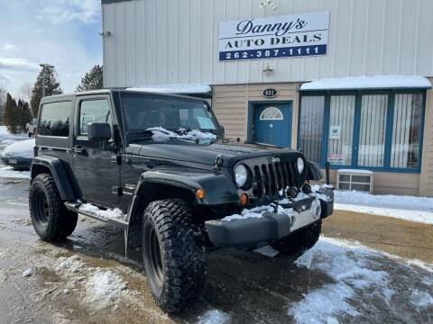 2012 Jeep Wrangler for sale at Danny's Auto Deals in Grafton WI