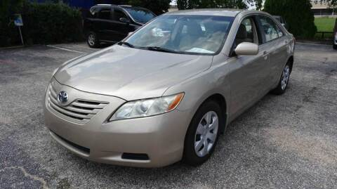 2009 Toyota Camry for sale at HOUSTON'S BEST AUTO SALES in Houston TX