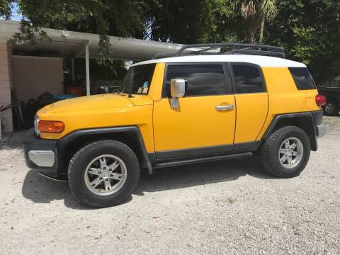 2007 Toyota FJ Cruiser for sale at D & D Detail Experts / Cars R Us in New Smyrna Beach FL