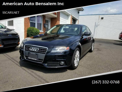 2011 Audi A4 for sale at American Auto Bensalem Inc in Bensalem PA