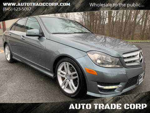 2012 Mercedes-Benz C-Class for sale at AUTO TRADE CORP in Nanuet NY