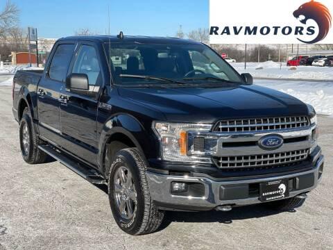 2020 Ford F-150 for sale at RAVMOTORS in Burnsville MN