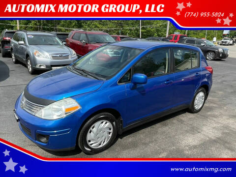2009 Nissan Versa for sale at AUTOMIX MOTOR GROUP, LLC in Swansea MA