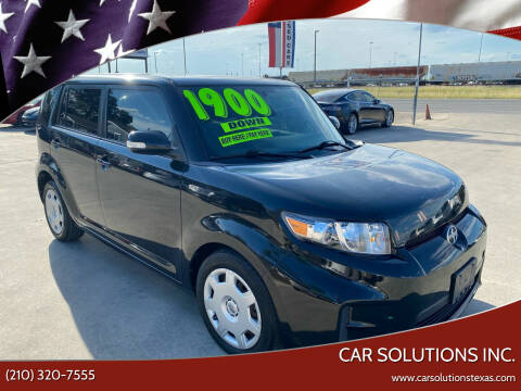 2011 Scion xB for sale at Car Solutions Inc. in San Antonio TX
