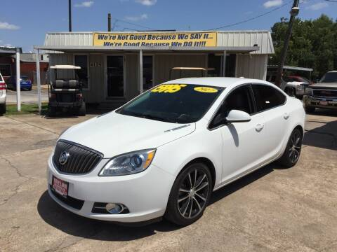 2017 Buick Verano for sale at Taylor Trading Co in Beaumont TX