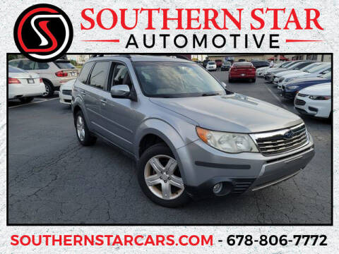 2009 Subaru Forester for sale at Southern Star Automotive, Inc. in Duluth GA