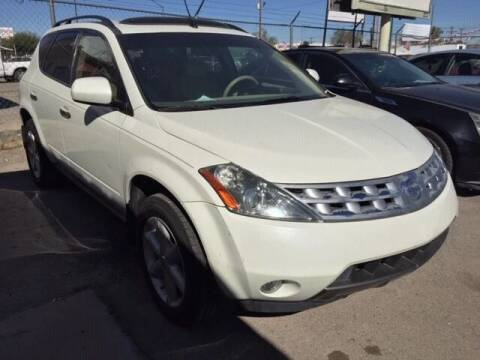 2004 Nissan Murano for sale at Moving Rides in El Paso TX