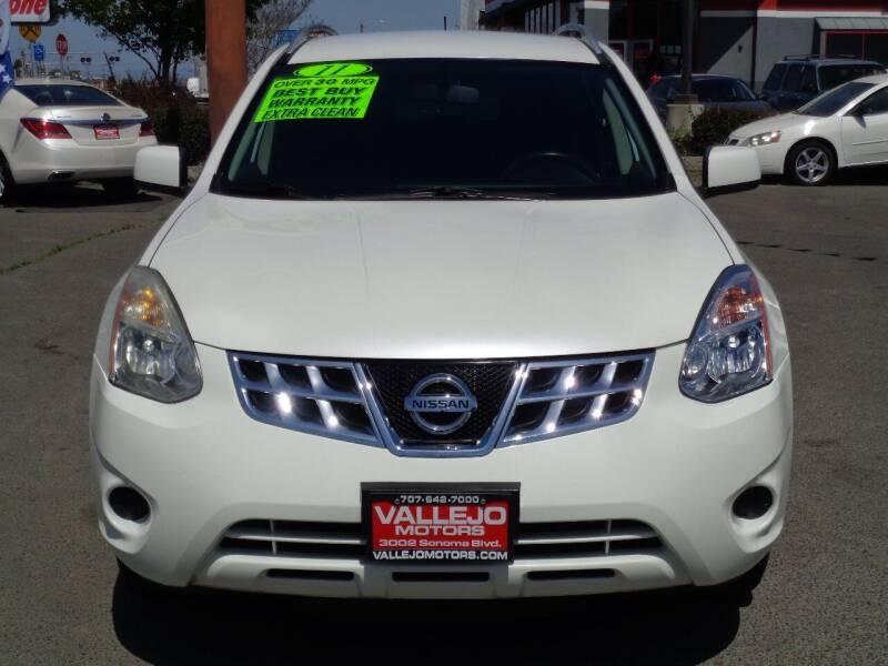 2011 Nissan Rogue for sale at Vallejo Motors in Vallejo CA