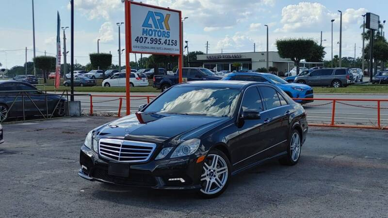 2010 Mercedes-Benz E-Class for sale at Ark Motors LLC in Winter Springs FL
