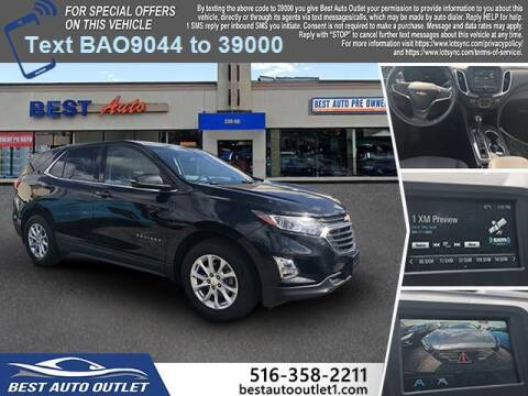 2018 Chevrolet Equinox for sale at Best Auto Outlet in Floral Park NY
