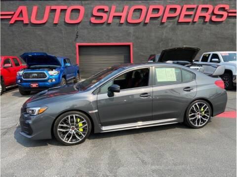 2020 Subaru WRX for sale at AUTO SHOPPERS LLC in Yakima WA