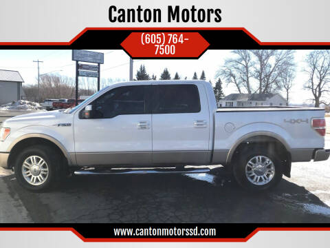 2012 Ford F-150 for sale at Canton Motors in Canton SD